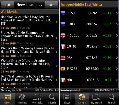 Bloomberg, Nokia, Ovi, Nokia N8, Ovi store