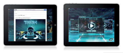 Apple iPad iAd