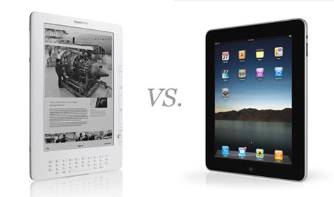 Amazone Kindle vs iPad Apple