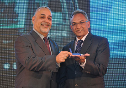 Qualcomm India & South Asia President Kanwalinder Singh and Gowton Achaibar
