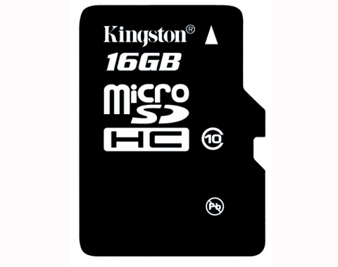 Kingston Digital microSDHC Class 10 16GB