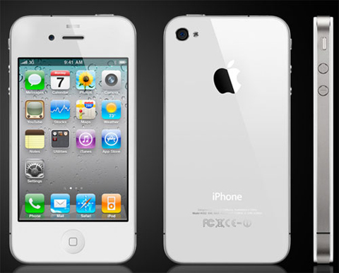 Apple iPhone 4 white, apple, iphone 4 white