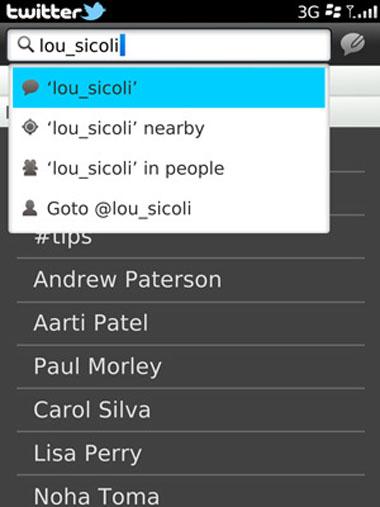 Twitter BlackBerry 2.0