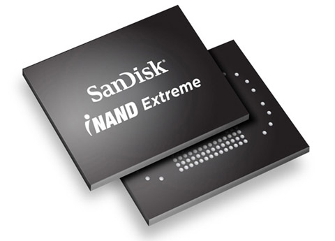 SanDisk Extreme iNAND, SanDisk, Extreme iNAND