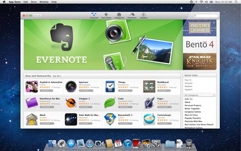 Apple, Mac OSX Lion 10.7, Mac Appstore