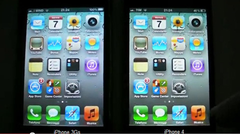 apple iPhone 4, iPhone 3GS, iOS 5