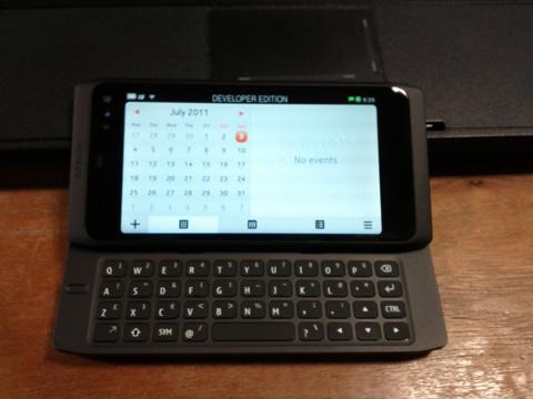 Nokia N950, Meego