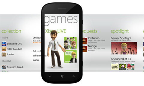 Windows Phone Mango, Microsoft, Games Hub