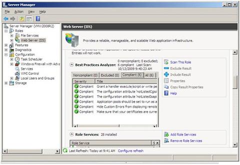 IIS 7.5, Windows Server 2008 R2