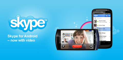 Skype 2.0.0.45, Android