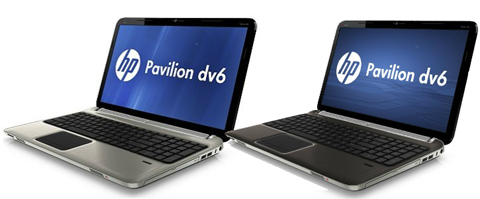 HP Pavilion dv6z, AMD Llano, HP