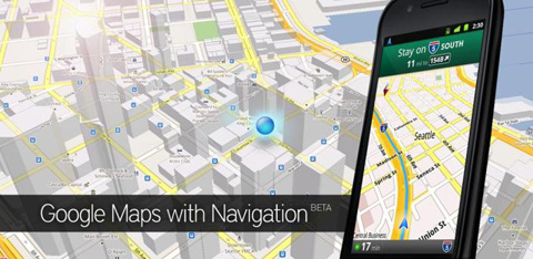 Google Maps 5.7, Android