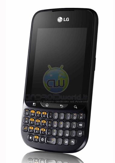 LG Optimus Pro C660, LG, Optimus Pro C660