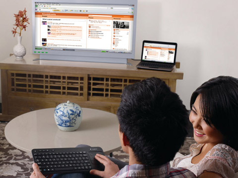 Logitech, Wireless Touch Keyboard K400