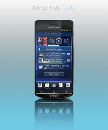 Sony Ericsson, Xperia Duo, Android