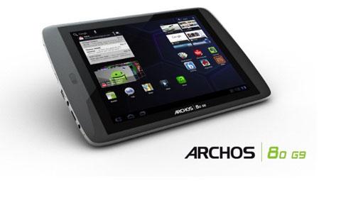 Archos G9, Archos, G9, Honeycomb