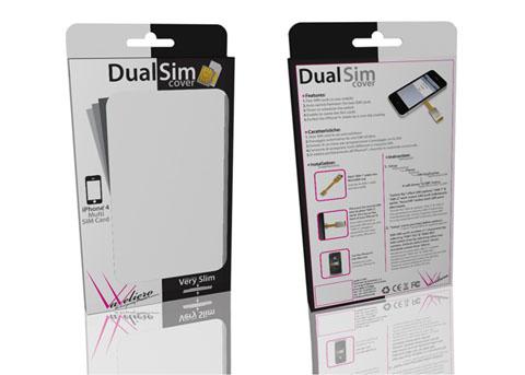 VaValiero, Dual SIM Cover, iPhone