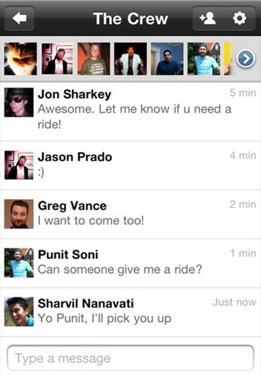 Google+, iPhone