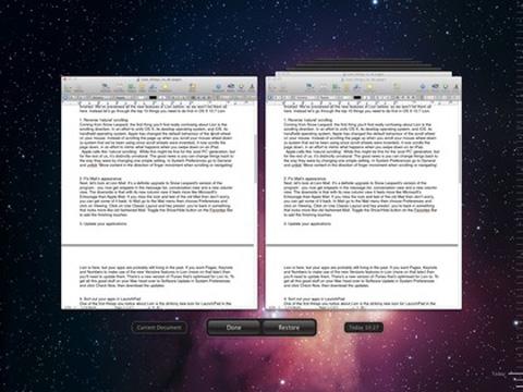 Mac OS X Lion, Apple