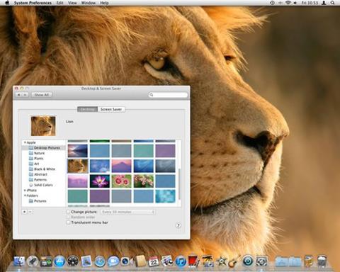 Mac OS X Lion, Apple, Background