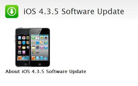 Apple, iOS 4.3.5