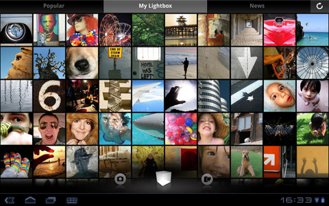 Android, Lightbox Photos