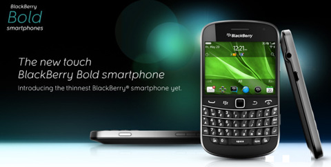 RIM, Blackberry Bold 9900, Torch 9810, Torch 9860