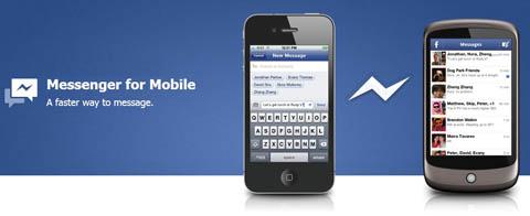 Facebook, Messenge,  Android, iPhone,
