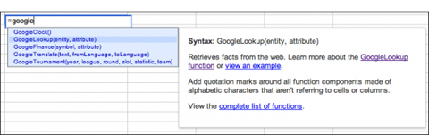 Google, Snippets