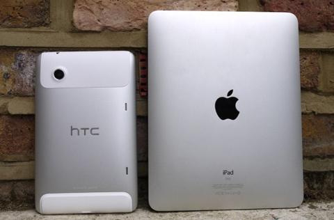 HTC, Apple, HTC Flyer, iPad