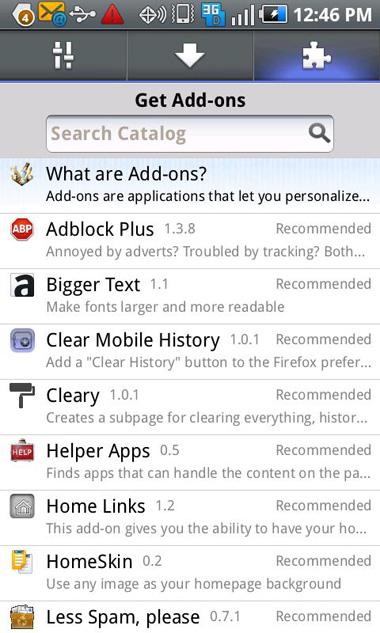 Firefox 6.0, Android, Mozilla, Google