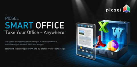Google, Android, Picsel Smart Office