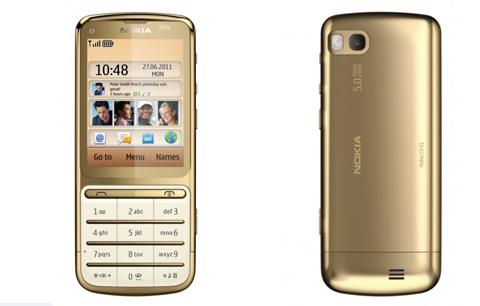 Nokia, C3-01 Gold Edition, Symbian
