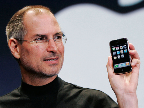 Steve Jobs, CEO Apple