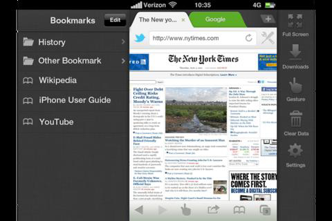 Dolphin Browser, iOS, Android, Apple