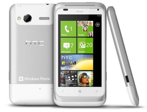 HTC, HTC Titan, HTC Radar, WP7 Mango
