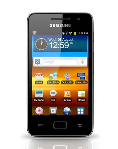 Samsung, Android, Galaxy WiFi 3.6