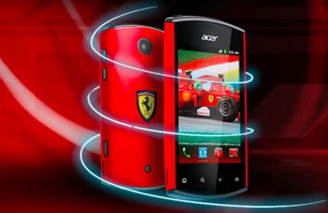 Acer, liquidmini Ferrari Edition, Android