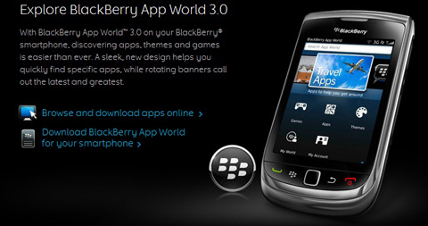 RIM, BlackBerry App World 3.