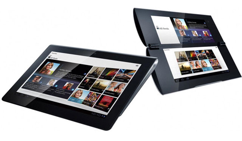 Sony, Tablet S, tablet P