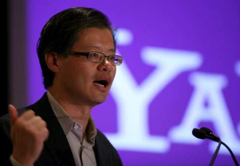 Yahoo, google, facebook, Microsoft, Jerry Yang
