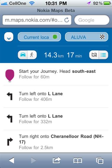 nokia, nokia maps, Android, iOS