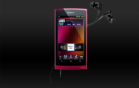 Sony, Walkman Z, Android