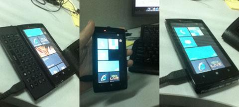 Sony Ericsson, Windows Phone 7