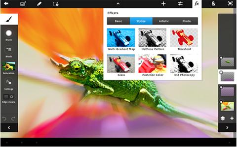 Adobe Photoshop Touch, Adobe