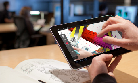 Adobe, Adobe Touch Apps, Android, iPad