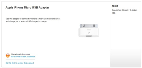 Apple, iPhone, adapter, iPhone 4S, phukien-news, Let's talk iPhone