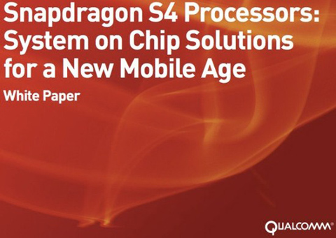 Qualcomm, Snapdragon S4 SoC