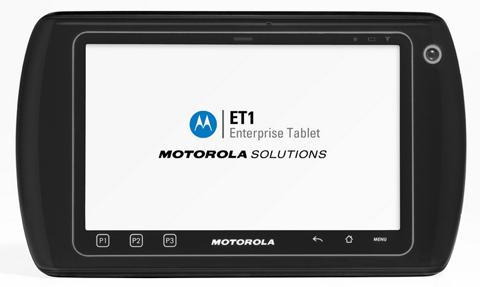 Motorola ET1, Motorola, Android, Tablet