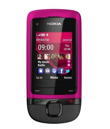 Nokia C2-05, Nokia, C2-05